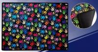 Клеенка для труда 8-1 Цветные ладошки 50*70 см ПВХ нейлон J Otten