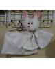Мягкий костюм Девочка-Зайка 3-4 года