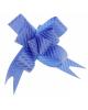 Бант Бабочка №3 рис синяя полоса