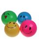 Мяч детский смайл и мигалка 75гр. микс 20см.441532