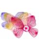 Карнавальные крлья с цветочком 39*45 3-4цв. 542170