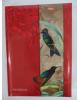 Бизнес-блокнот 120л. 'Птицы' поролон,тиснение фольгой  Хатбер-М (Россия)