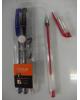 Ручка гелевая набор 3цв.DUNE прозр.корпус 0,5мм ,1