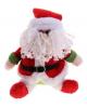 Мягкая свет Дед мороз зелененький 23см. 535413