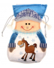 Мягкий мешок для подарков 'Снегурочка с косичками' 687267