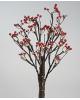 Мини дерево заснеж Волшебные ягоды на бат. 50см 24