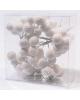 Эл. гирлянда Снежные шарики 200см 128LED ламп холо
