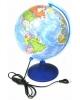 Глобус Земли д-р 250 политический с подсветкой ГЗ-250пп