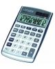 Калькулятор 12разр двойное питание, серый СРС112WB