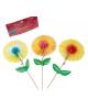 Пика д/канапе (набор 12 шт) цветок 449231