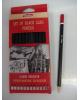 Набор чернографитных карандашей 12шт. Хатбер европодвес BHg_12080