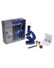 Микроскоп *450, 8 стекол, 2 баночки, все пластик от батареек 594760