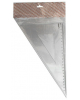 Треугольник 30* пласт. длина 23см. прозрач.