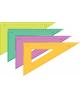 Треугольник пл 30*23см цв прозр тк54
