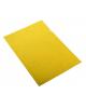 Папка- уголок А4 L-file .EKжелтая 1/10 180мк. 3887
