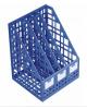 Лоток вертикальный разборный /синий,250мм/ 4отд. лт812 Стамм
