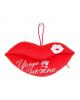 Мягкая игрушка-подвеска губы 'Целую нежно' 864935