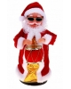 Дед Мороз 28см с барабаном танцует по кругу (играет англ. мелодия) 726664