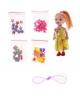 Кукла малышка с набор бусин в пак. 735119