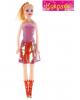 кукла 'Сара'в розовым платье  в пак 744568