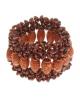 Браслет Матрешка коричневый 985469