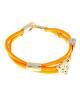 Браслет Миндора ягуар ораньжевый неон 163197