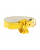 Браслет Style бант желтый неон 299371