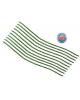 Проврлока с ворсом для поделок и декорирования (набор 10шт)цвет зеленый 151277