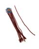 Проволока с ворсом для поделок и декорирования (набор 10шт)цвет красный 151672