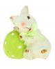 АКЦИЯ Сувенир Кролик с пасхальным яйцом 872557