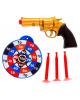 Пистолет Револьвер с присосками и мишенью 1004597