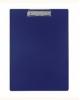 Планшет inФормат А4 синий пластик с зажимом NM3012В