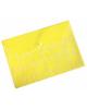 Папка -конверт на кнопке A4 Ромашки 0,18 желтый PK820yel