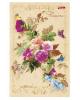 Бизнес-блокнот 120л  А6 'Flowers' Ваниль тв.переплет 120ББ6В5_11513