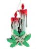 Украшение новогоднее свечи 17*19см 1113664