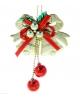 Украшение новогоднее колокольчики с шариками 18см. 1113676