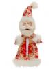 Подарочная упаковка 'Дед мороз  'елка на камзоле  вместимость 800гр 1050185
