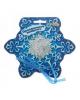 Праздничное конфети 'Снежинка' снежинки и кругляш. 1113992