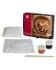 Набор д/изготовление гипсового барельефа Индеец 1516-08