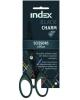 Ножницы 150мм 'Black Charrm' тефлоновое покрытие пластик.ручки с резин.вставк. ISC701