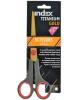 Ножницы 17,5см TITANIUM GOLD пластиковые ручки ISC602