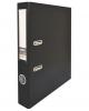 Папка-регистратор 50мм PVC черная без метал. окантов
