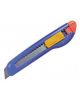 Нож канцелярский 18мм инд.пакет с подвесом SC008