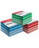 Блок для записи Megatop на склейке  9*9*4,5 цветной 01139