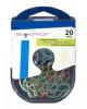Скрепки фигурные Доллар 20шт металл в пласт.оплетке 493008 420-0282
