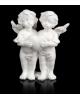 Сувенир полистоун 'Белоснежные ангелы с сердцем' МИКС 5,5*4,5*2,5см 610507