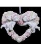 Сувенир полистоун 'Два ангела на цветочном сердце' 12*3,5*10,5см 872525