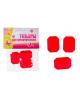 набор бусин  'Шик  ' цвет  розовый  17гр.830622