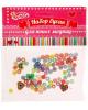 набор бусин  'Сердечки  '  6шт+цветные кругляши 1168079
