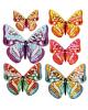 Набор комплиментов пожеланий 'Бабочки'10,6*13,5см  893064